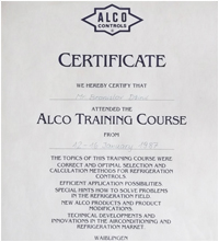 Alco training course